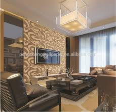silver color wallpaper waterproof durable light color beautiful design wall paper interior decoration wall paper