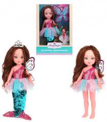 <b>Кукла</b> 451315 Фея цветов 2в1 <b>Волшебное превращение</b> ТМ <b>Mary</b> ...