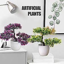 TOPmountain Fashion <b>Simulated Potted Plants Simulation</b> Flower ...