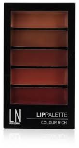 LN-professional <b>Палетка помад для губ</b> LipPalette Clolur Rich ...