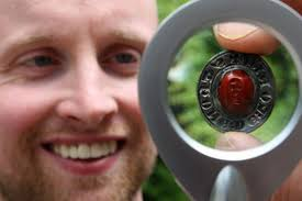 David Booth discovered a medieval seal dating back 800 years in a field in Stirlingshire. - david-booth-with-latest-treasure-find-image-2-133814396-912921
