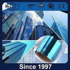 China 2mil <b>Blue Silver</b> Building <b>Solar Window</b> Tinted <b>Film</b> - China ...