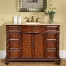 sink cabinets marble top silkroad exclusive marble stone top  inch single sink cabinet bathroom