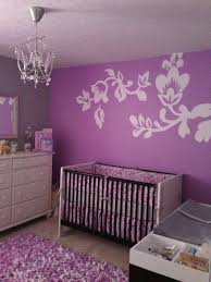 baby girl room color ideas awesome minimalist purple and grey baby nursery room decoration idea