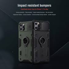 Чехол <b>Nillkin</b> для iPhone 12 11 Pro Max Camshield ...