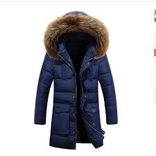 2019 <b>2018 Winter Puff Jacket</b> Men Coat Thick Warm Casual Fur ...