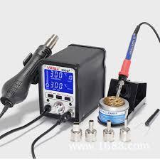 <b>YIHUA 995D+</b> Lead Iron <b>Soldering Station</b> LCD <b>Rework Station</b> ...