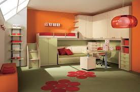 of course all parents have always wanted a child is always cheerful atmosphere everywhere at least not in his room children study room design