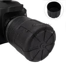 <b>1 Pc</b>/<b>2 Pcs</b> Waterproof SLR Silicone Camera Cover <b>Universal</b> Lens ...