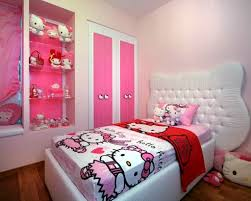Simple Bedroom Designs For Small Rooms Home Design Simple Hello Kity Girls Bedroom Designs For Small