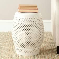 patio stool: safavieh diamond cream patio stool acsb the home depot