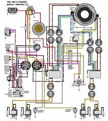 mastertech marine evinrude johnson outboard wiring diagrams v 4 motors 1982 1984 manual tilt