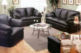 black living room furniture sets decorating adorable design black leather living room