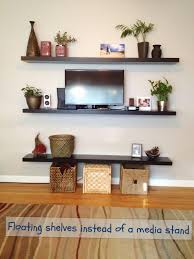 For Floating Shelves In Living Room Mounte Tv With Shelf Under Google Search Tv Mounted In Bedroom