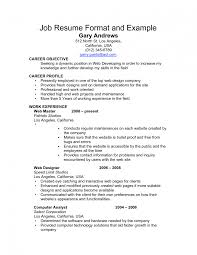job resume example resume format for part time job view sample how job resume job resume job fair resume personal details how to write a resume for