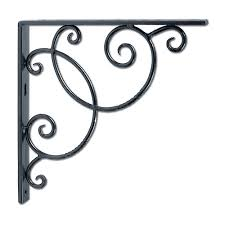 achla designs scroll shelf bracket achla designs wrought iron