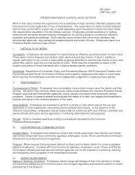 resume objective juvenile probation officer sample customer resume objective juvenile probation officer juvenile probation officer training career description us probation officer resume s