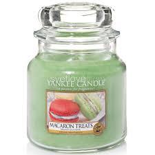 <b>ароматическая свеча</b> yankee candle <b>macaron treats</b> / макаруны