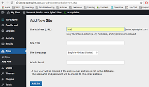 Multisite: How to add new sites and map a custom domain ...