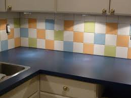 Wall Tiles Design For Kitchen Casual Custom Color Wall Pattern Tile Design On Kitchen With