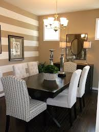 room accent walls  traditional dining room with a striped accent wall design anita roll
