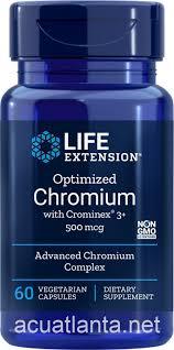 <b>Optimized Chromium with Crominex</b> 3+ 60 veggie capsules 500 ...