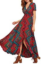 African Pattern Dress - Amazon.com