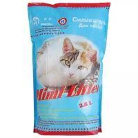 <b>Наполнитель Mimi Litter Силикагель</b> Для котов (3.6 л) в Санкт ...