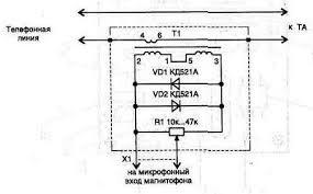 20. Простой <b>адаптер для записи</b> разговора | Техническая ...