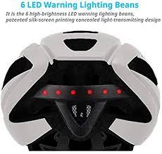 Smart4u Smart Helmet with LED Tail Light & Turn ... - Amazon.com