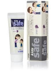 Детская <b>зубная паста со</b> вкусом винограда KIDS SAFE, от 3-х до ...