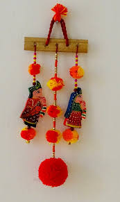 Small Picture Diwali home decor ganesha wall hanging bell hanging umbrella