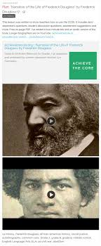 best ideas about frederick douglass narrative by frederick douglass grades 7 this lesson was written to show teachers how to use the ccss it includes text dependent questions student discussion