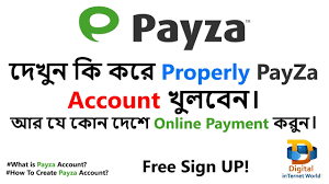what is payza account how to create payza account for how to create payza account for bangla
