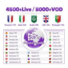<b>IPTV</b> France <b>Arabic</b> SUBTV Code 1 Year X96 <b>X96W</b> Android 7.1 ...