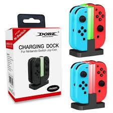 <b>Зарядная</b> станция для Nintendo <b>Switch</b> Joy-Con, <b>DOBE</b> Charging ...