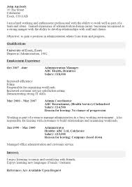 cv before and after example the cv store cv before