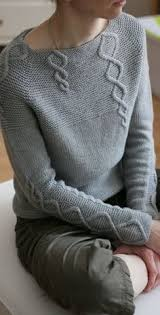 Baby Cables and Big Ones Too pattern by Suvi Simola | Sweater ...