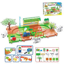 Buy Children's <b>Train</b> Toy Educational Electric <b>Train Rail Assembled</b> ...