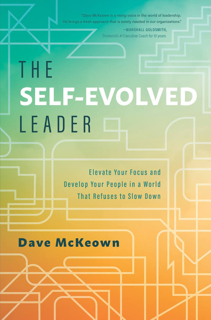 The Self-Evolved Leader cover