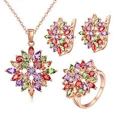 Jewels Galaxy Exclusive Luxuria Sparkling Colors <b>AAA Swiss Cubic</b> ...