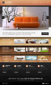 best furniture websites design professional interior amp furniture website templates entheos set best furniture websites design