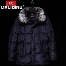 <b>MALIDINU 2019</b> Fashion <b>Men</b> Down Jacket 70%White Duck Down ...