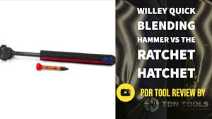 PDR Tool Review - Willey Quick Blending Hammer Vs The Ratchet ...