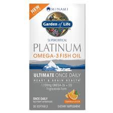 <b>Omega</b>-<b>3</b> Fish Oil - Minami <b>Platinum</b> | Garden of Life