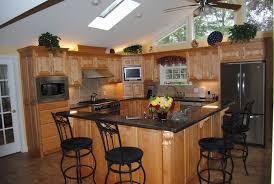 kitchen futuristic island shaped