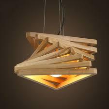 creative design light spiral wood pendant light burlywood dinning hall hanging lamps wooden rustic lighting fixture cheap rustic lighting