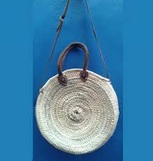 Round Rattan <b>Straw Bags Bohemia</b> Style <b>Beach</b> Circle <b>Bag Beach</b> ...