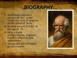 Image result for archimedes