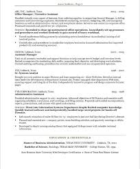 executive assistant free resume samples blue sky resumes examples of resumes for administrative positions